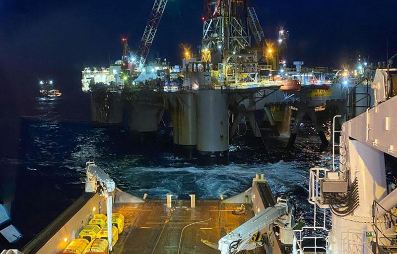 oil rig mooring case study