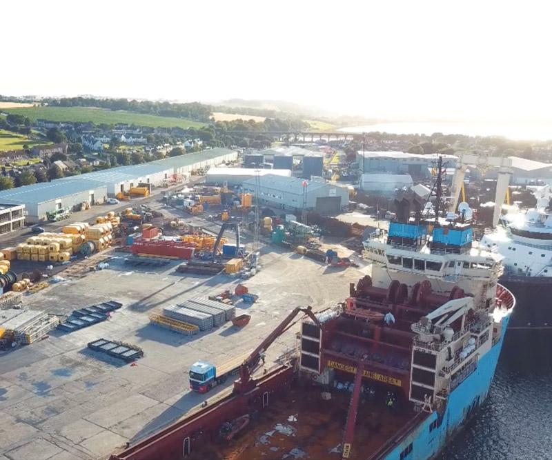 dedicated quayside facility